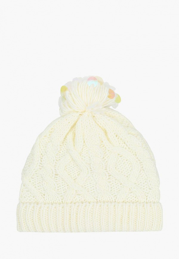 шапка acoola для девочки, белая