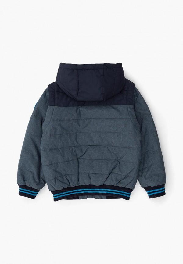 Фото 2 - Куртку утепленная Acoola серого цвета