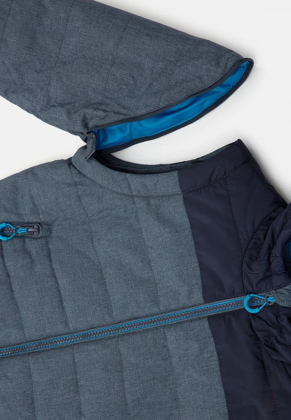 Фото 3 - Куртку утепленная Acoola серого цвета