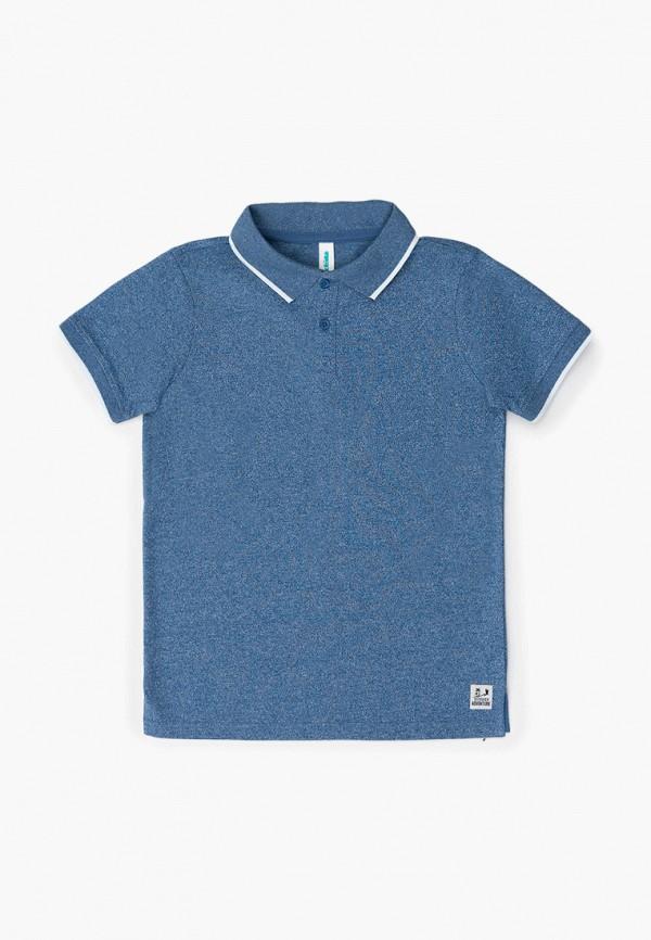 поло acoola для мальчика, синее