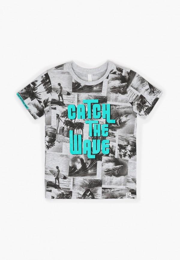 футболка с коротким рукавом acoola для мальчика, серая