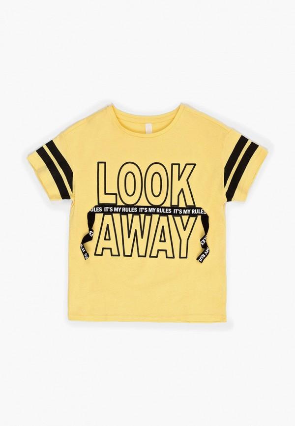 футболка с коротким рукавом acoola для мальчика, желтая