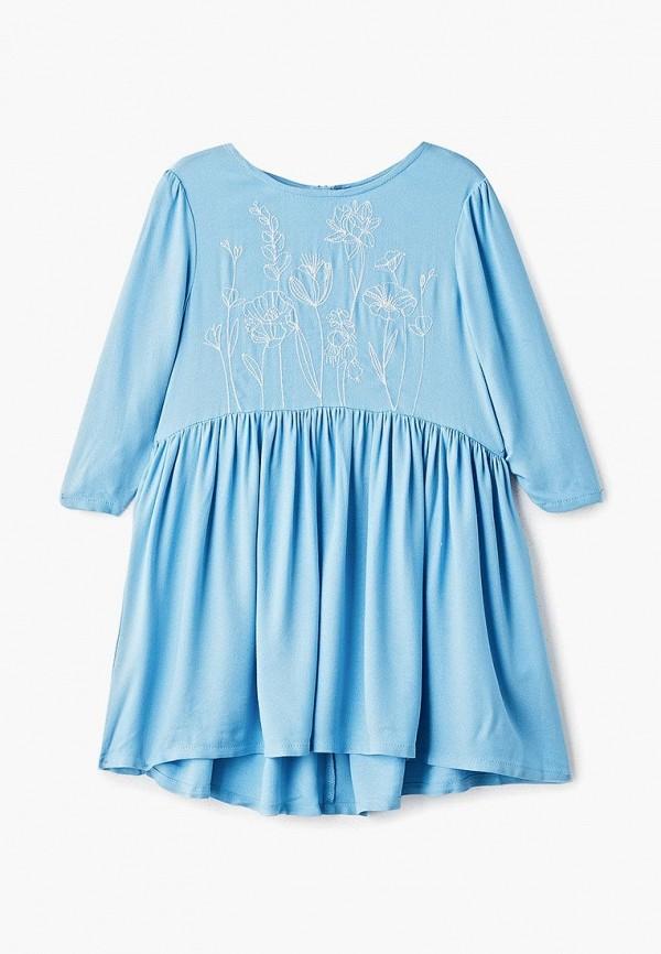 повседневные платье concept club для девочки, голубое