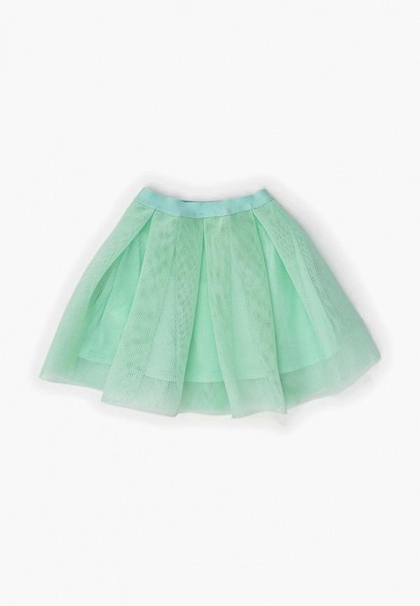 юбка acoola для девочки, бирюзовая