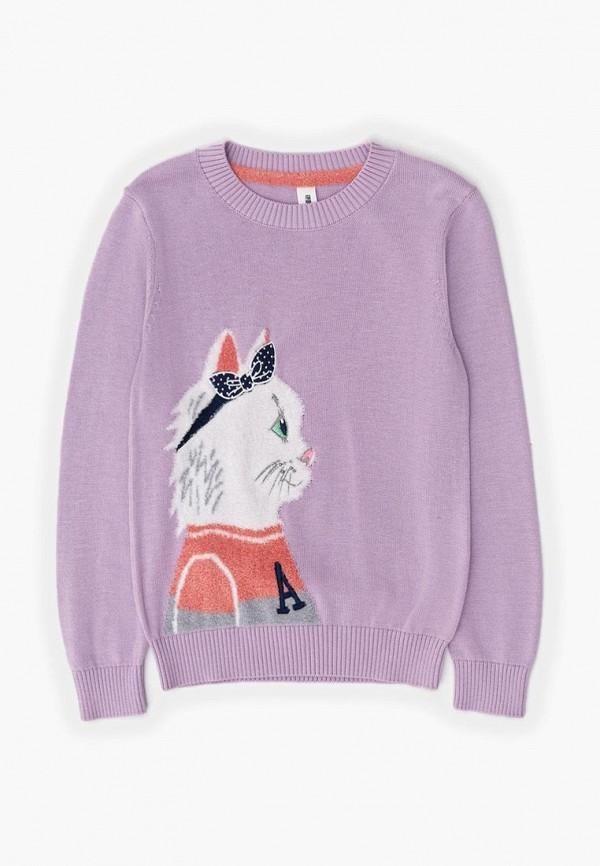 джемпер acoola для девочки, фиолетовый