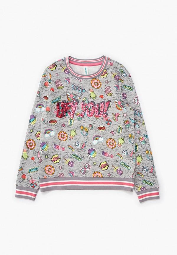 свитшот acoola для девочки, разноцветный