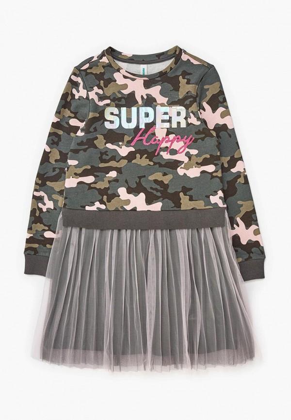 повседневные платье acoola для девочки, разноцветное
