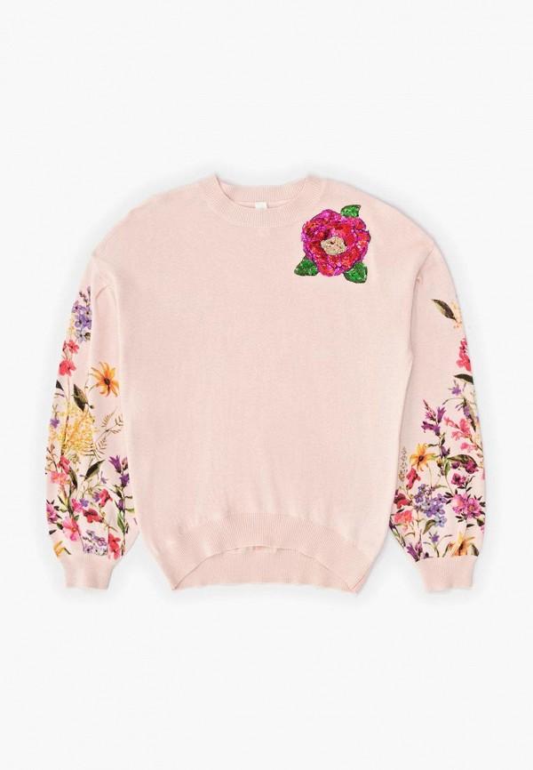 джемпер acoola для девочки, розовый