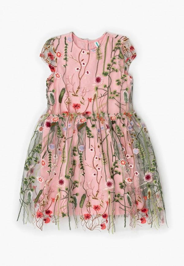 платье acoola для девочки, розовое