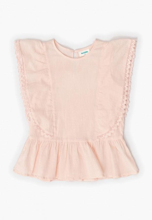 блузка acoola для девочки, розовая