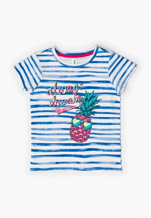 футболка с коротким рукавом acoola для девочки, синяя