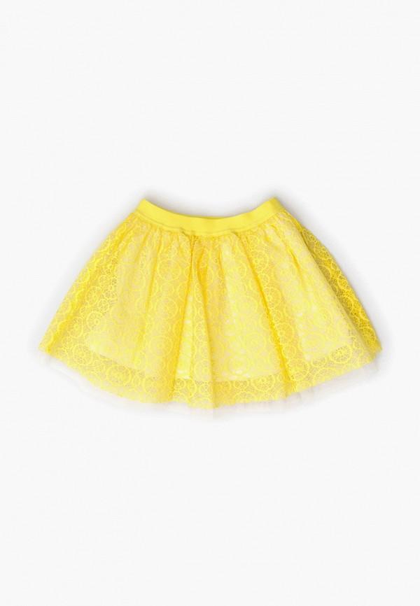 юбка acoola для девочки, желтая