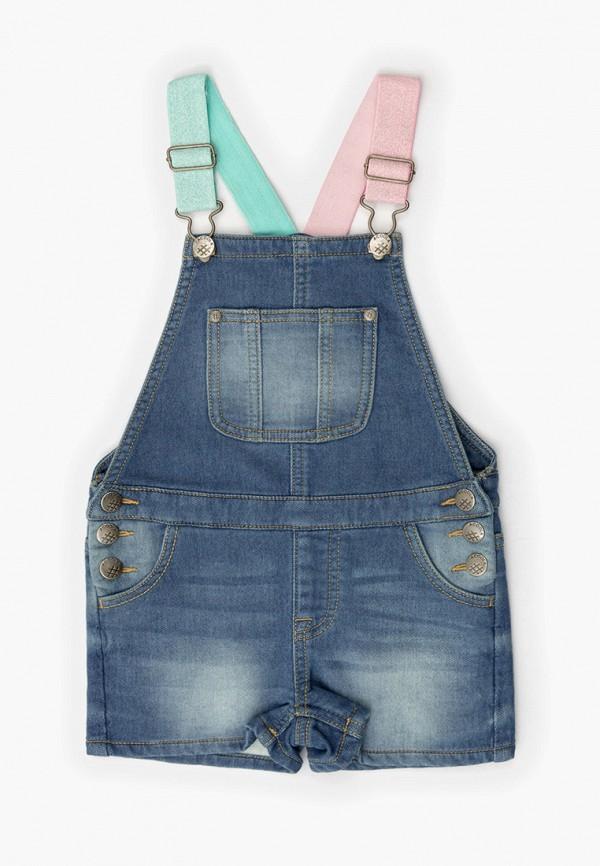 джинсовые комбинезон acoola для девочки, синий