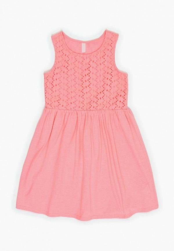 повседневные платье acoola для девочки, розовое