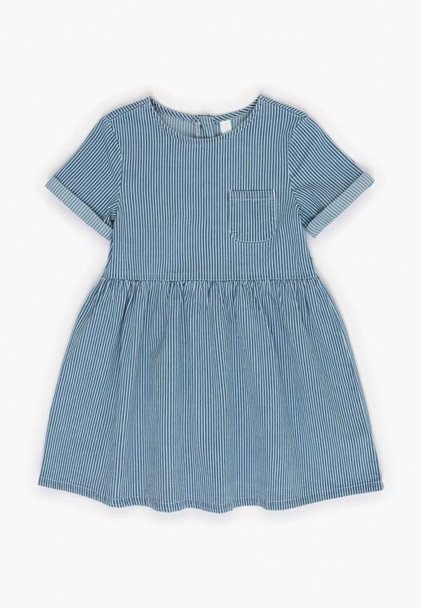 повседневные платье acoola для девочки, голубое