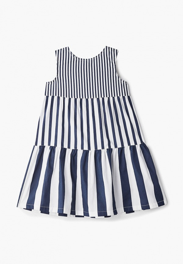 повседневные платье acoola для девочки, белое