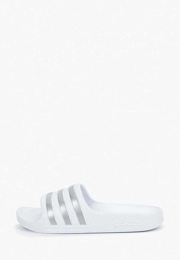 сланцы adidas для мальчика, белые