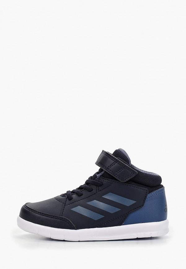 кеды adidas для мальчика, синие