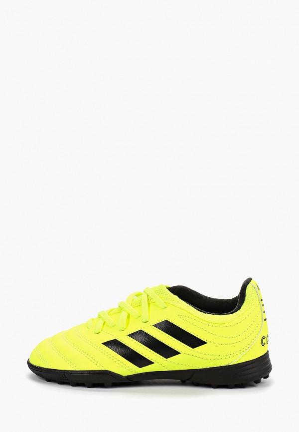 Фото - Шиповки adidas желтого цвета