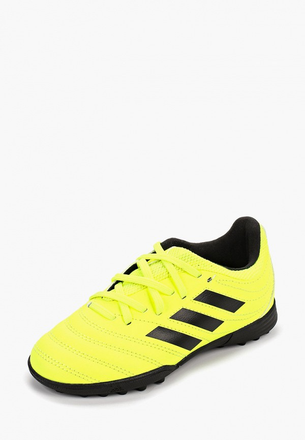 Фото 2 - Шиповки adidas желтого цвета