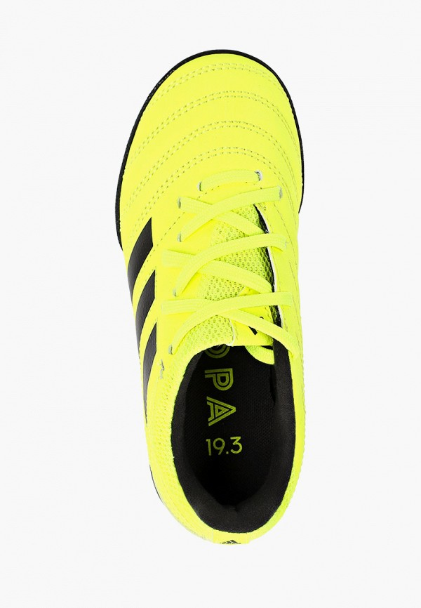 Фото 4 - Шиповки adidas желтого цвета