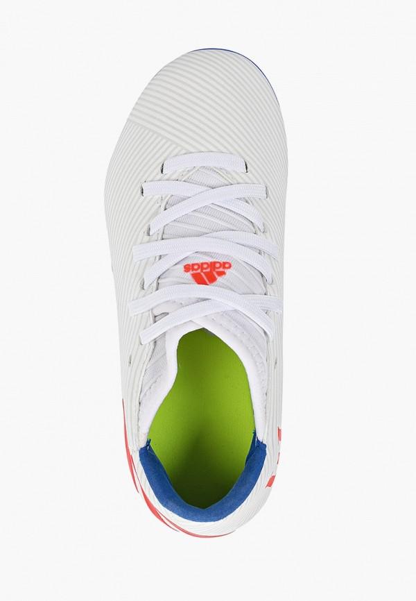 Фото 4 - Бутсы adidas белого цвета