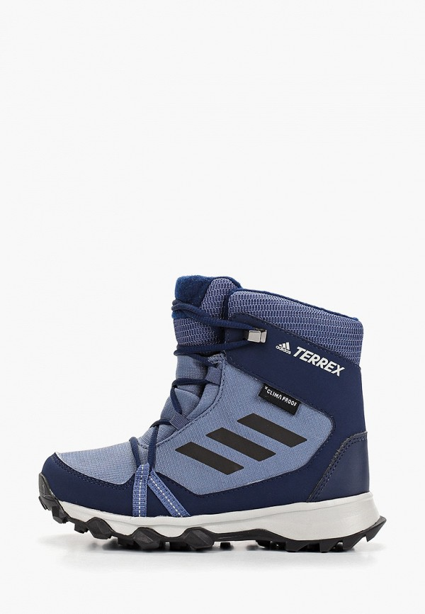 ботинки adidas для мальчика, синие