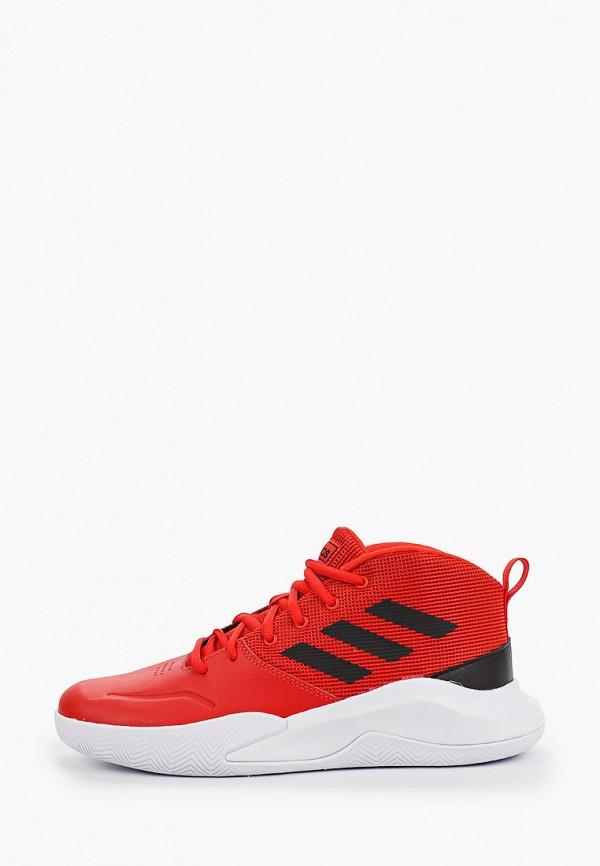 кроссовки adidas для мальчика, красные