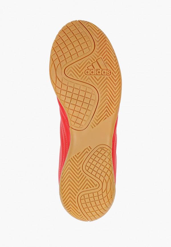 Фото 5 - Бутсы зальные adidas красного цвета