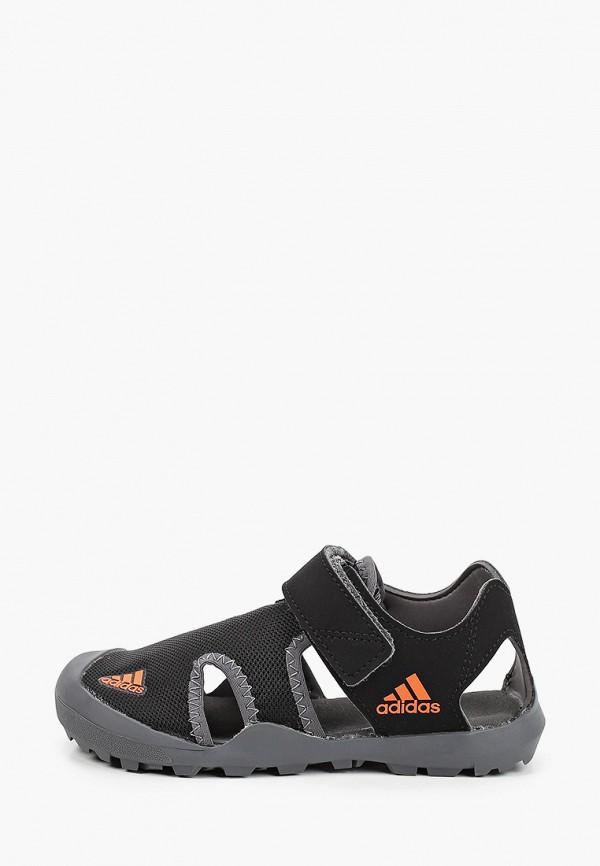 сандалии adidas малыши, черные