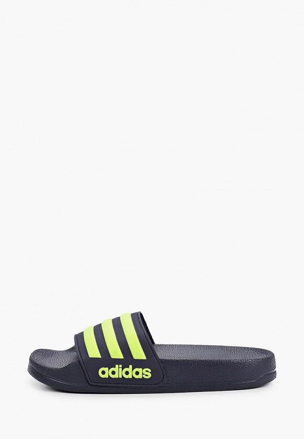 Сланцы adidas adidas AD002ABIACK7 сланцы детские reima цвет черный 5693789994 размер 36