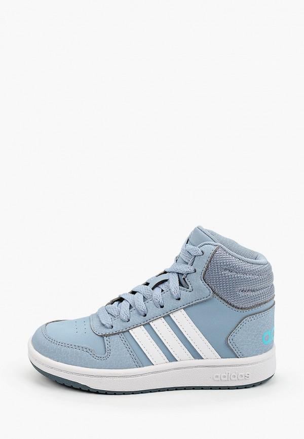 кеды adidas для мальчика, голубые