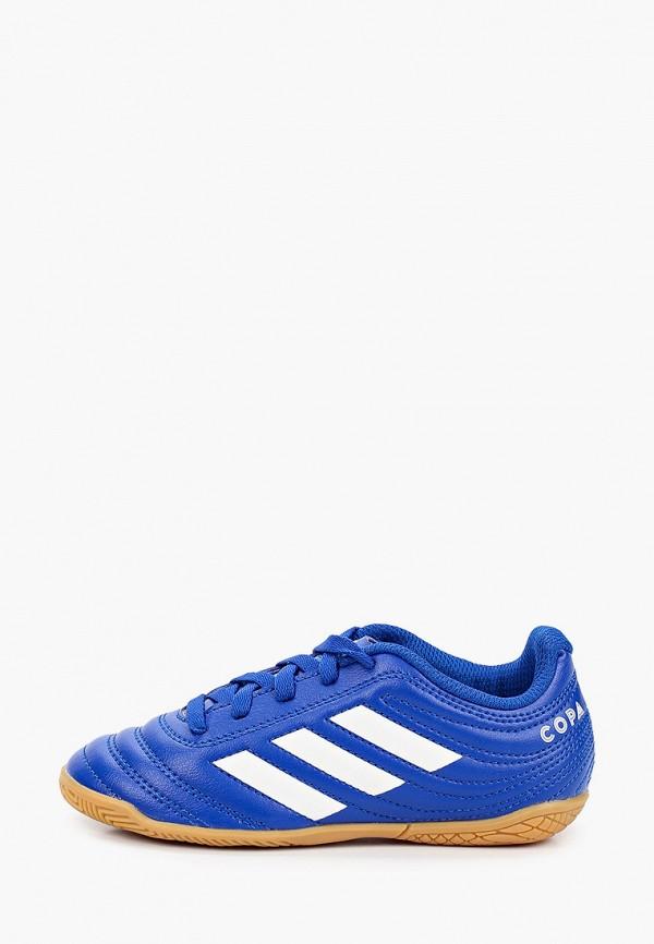 бутсы adidas для мальчика, синие
