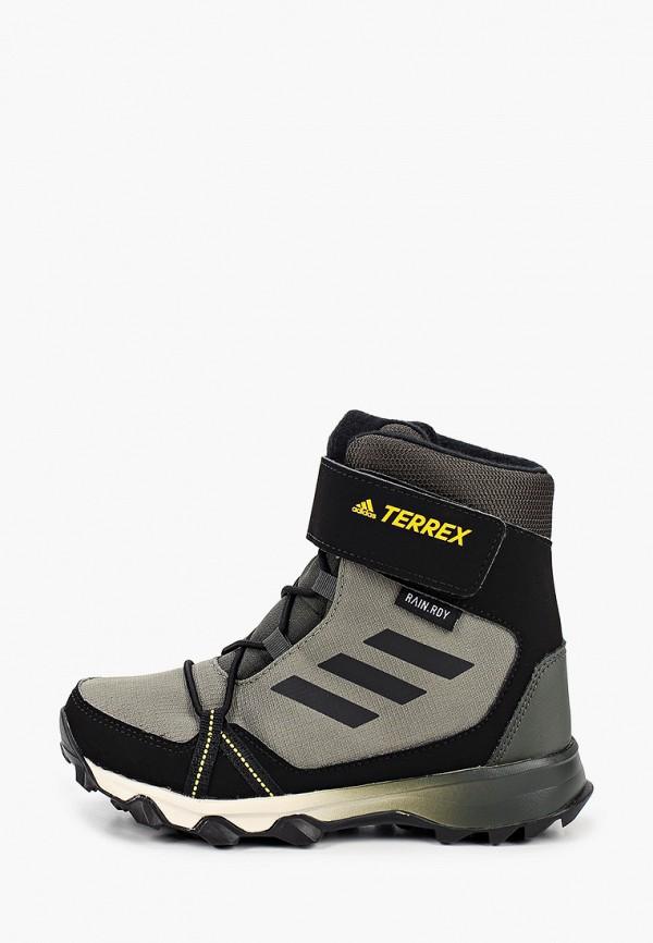 ботинки adidas для мальчика, хаки
