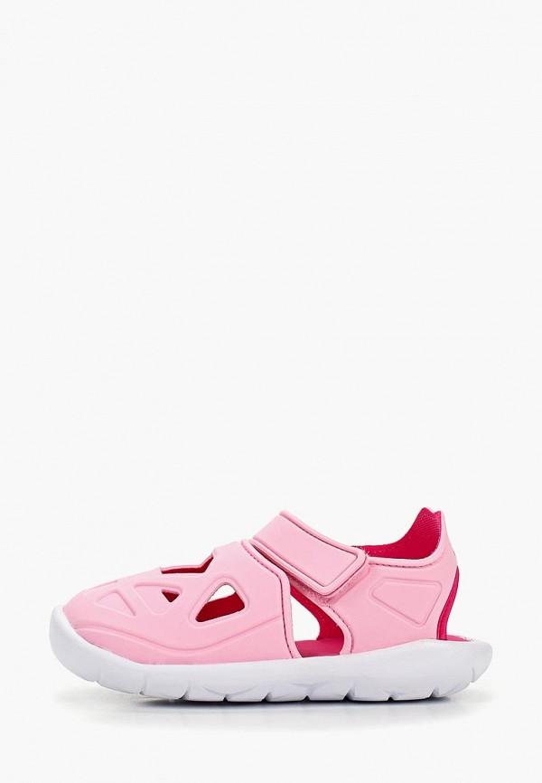 сандалии adidas для девочки, розовые
