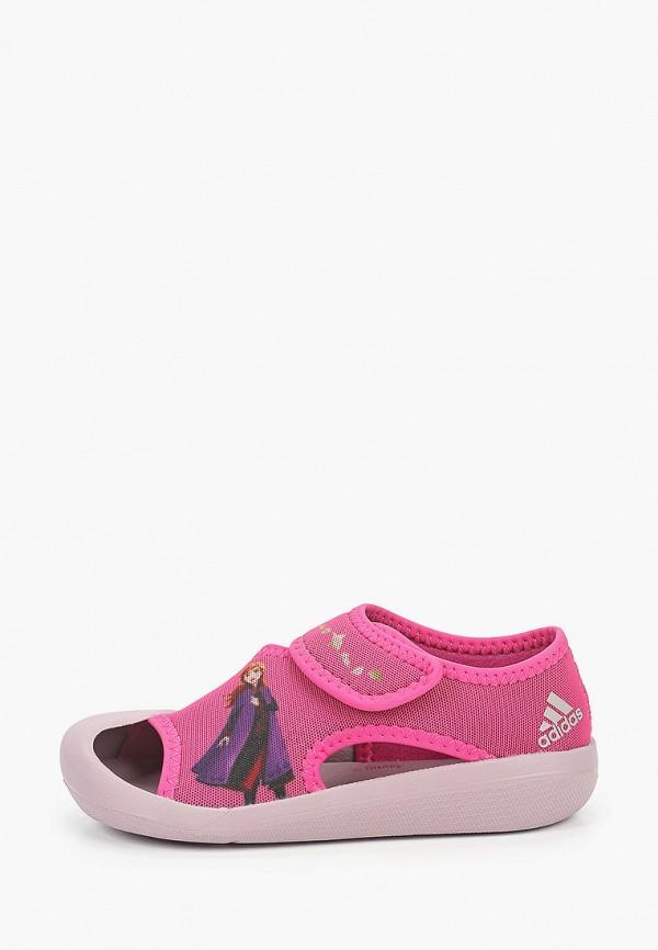 сандалии adidas малыши, розовые