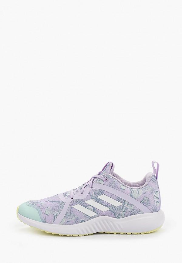 кроссовки adidas для девочки, фиолетовые