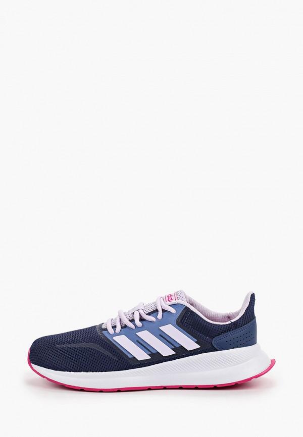 кроссовки adidas для девочки, синие