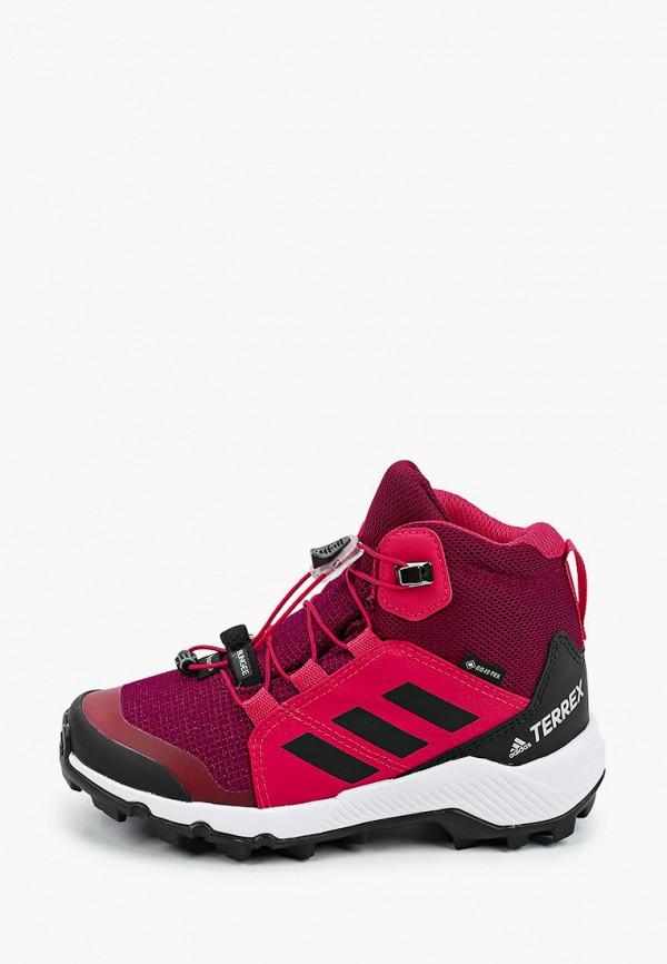 ботинки adidas для девочки, розовые