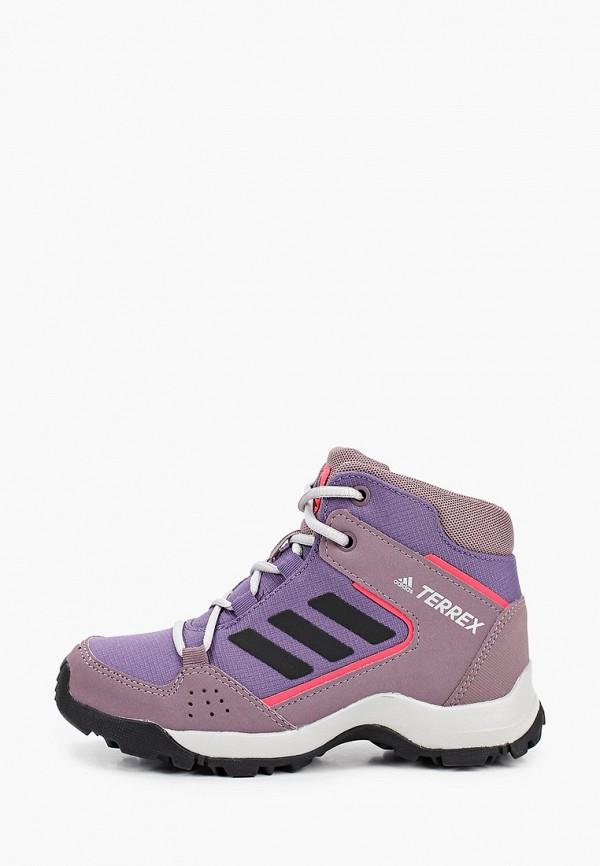 ботинки adidas для девочки, фиолетовые