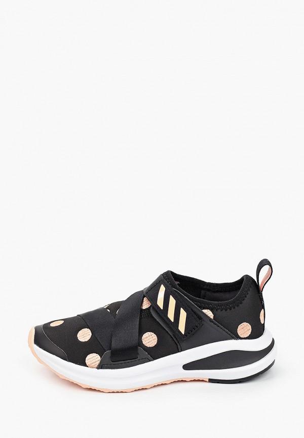 кроссовки adidas для девочки, черные