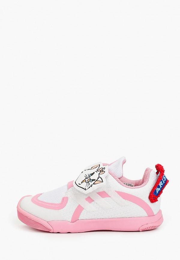 кроссовки adidas для девочки, белые