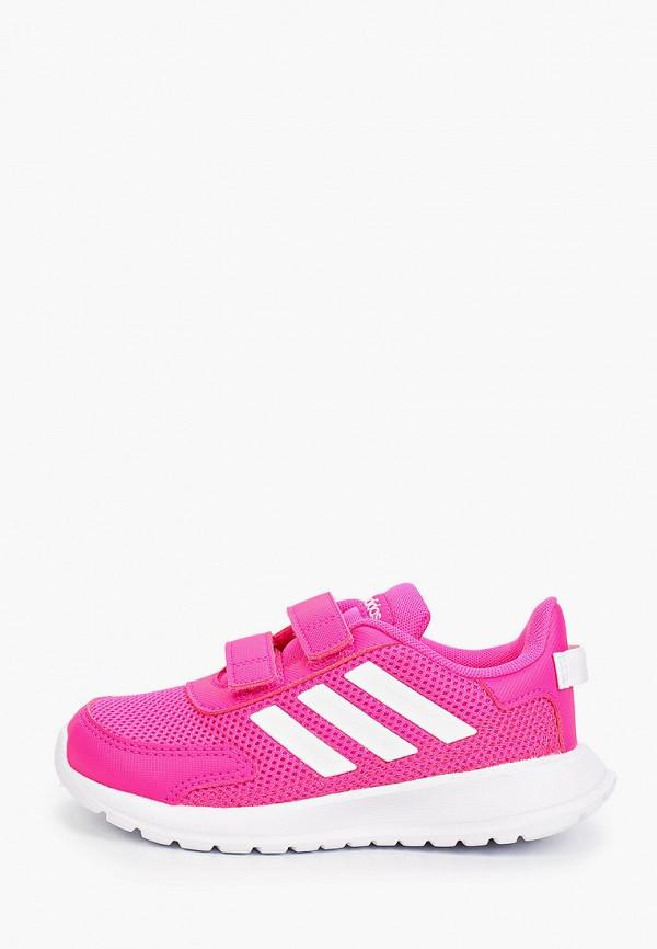 кроссовки adidas для девочки, розовые