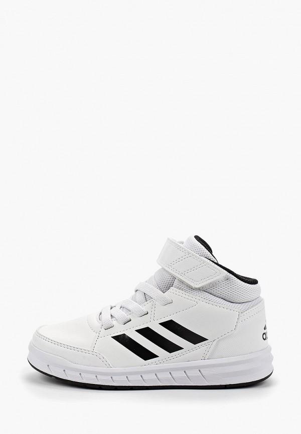 Купить Кеды adidas белого цвета