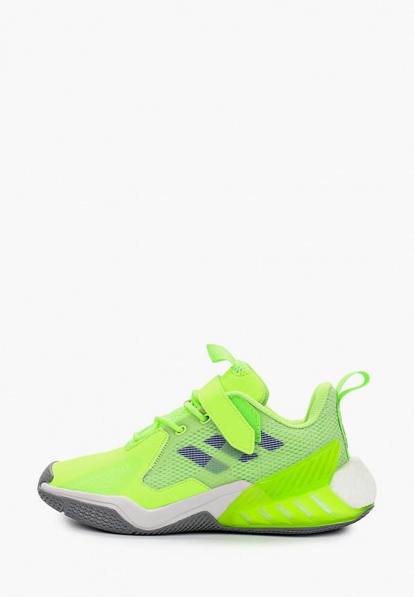 кроссовки adidas малыши, зеленые
