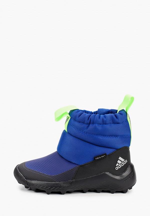 дутики adidas малыши, синие