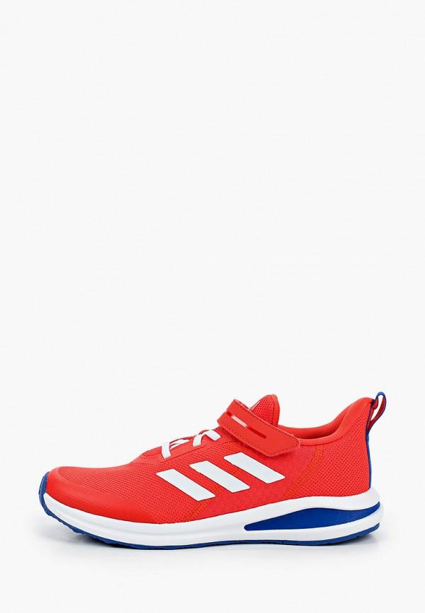 кроссовки adidas малыши, красные