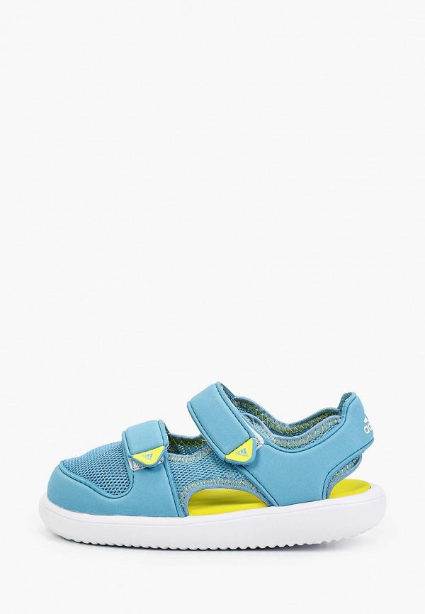 сандалии adidas малыши, голубые