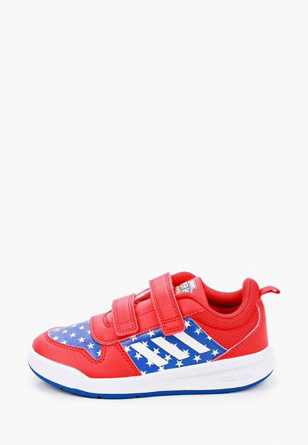 кеды adidas малыши, красные
