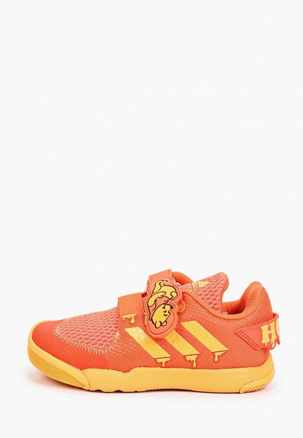 кеды adidas малыши, оранжевые
